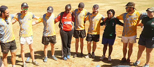 Developing youth and community leaders through rugby, Nairobi
