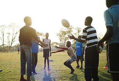 Coachingi n Zambia and Malawi