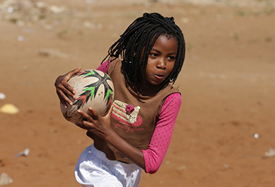 Coaching in Mozambique